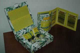 prodotti Prima Spremitura Idea Toscana - kit cortesia