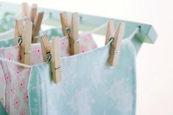 lavaggio ecologico del corredino stendere