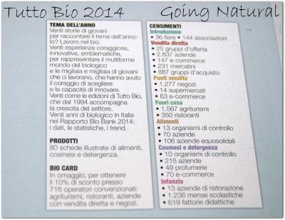 Tutto Bio 2014 dettaglio retro copertina