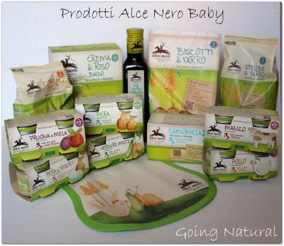 Prodotti Alce Nero Baby