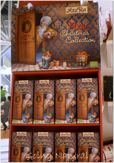 Sana 2014 novità Yogi Tea Christmas Collection