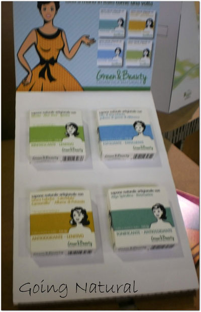 Sana 2014 novità Green&Beauty saponette