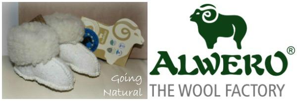 Stivaletti neonato Alwero Natural Wool